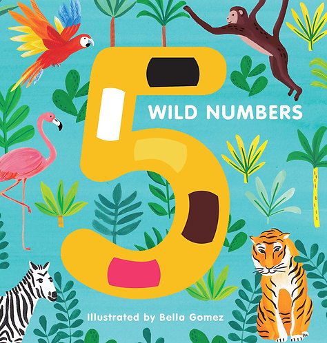5 Wild Numbers (Board Book)