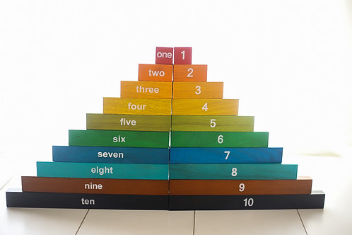 Montessori Counting Rods