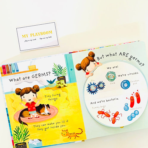 Lift-the-Flap Very First Questions and Answers: What Are Germs? (Board Book)