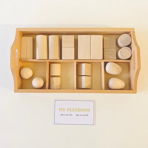 Montessori small Sorting Tray