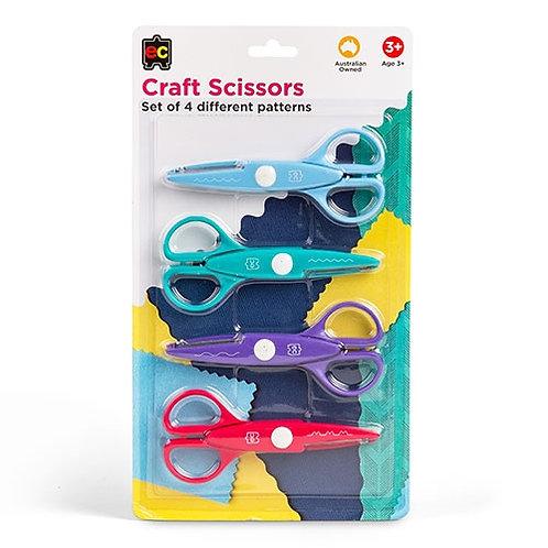 Craft Scissors - Set of 4