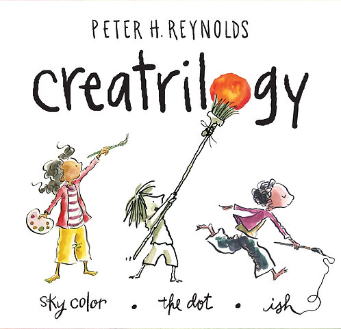 Creatrilogy Boxed Set: Sky Color, Ish, The Dot (Hardcover)