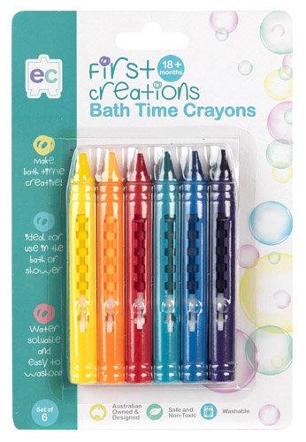 First Creation Bath Crayons Set of 6