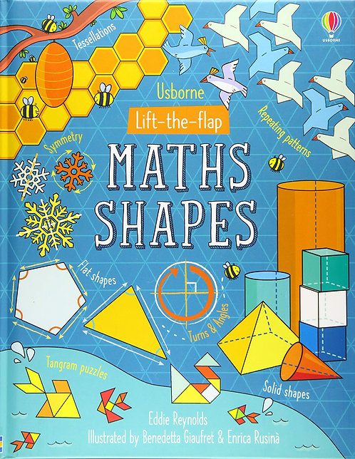 Lift-the-Flap: Maths Shapes (Board Book)