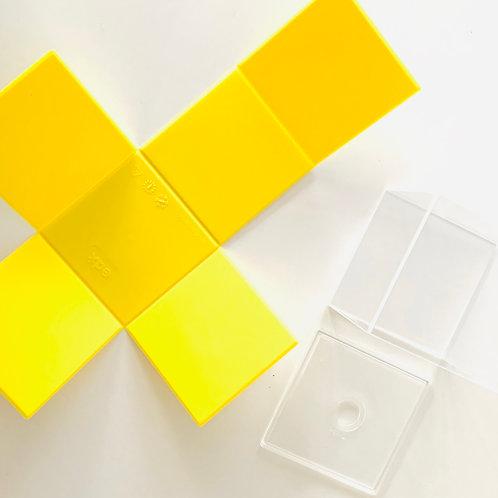 Folding 2D/3D Geometric Solids Set of 12