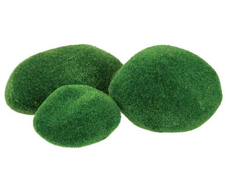 Textured Poly Stones 8's Mossy