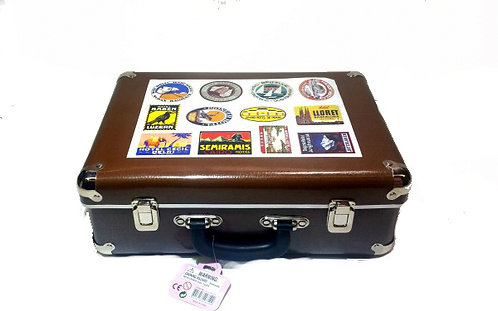 Kid's Suitcase with Stickers