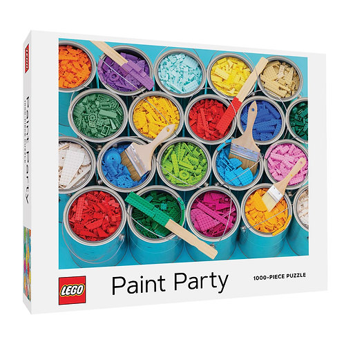 LEGO Paint Party 1000-Piece Jigsaw Puzzle