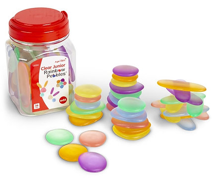 Clear Pebbles Toddler Friendly Set