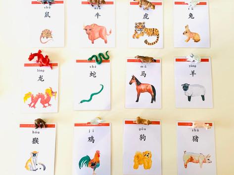 Teaching  Mandarin in Montessori Way
