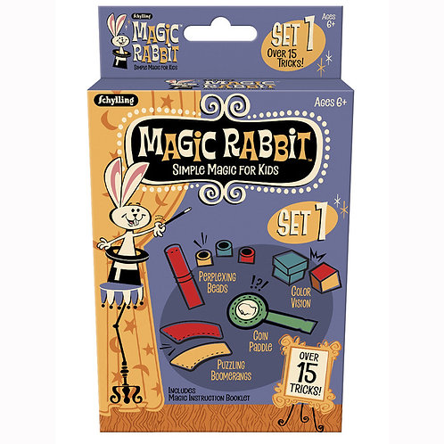 Set of 3 Magic Rabbit Assorted Magic Tricks