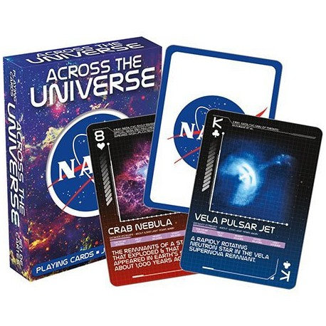 NASA – Across The Universe Playing Cards