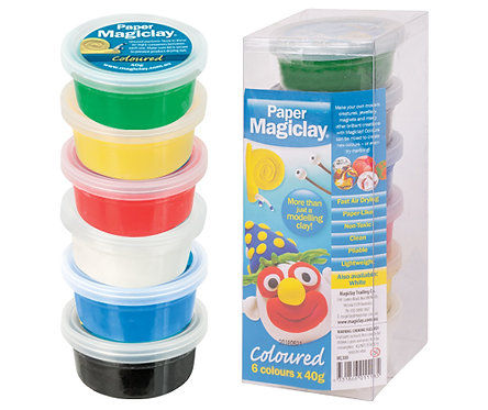 Paper Magiclay 240g Coloured – Canister