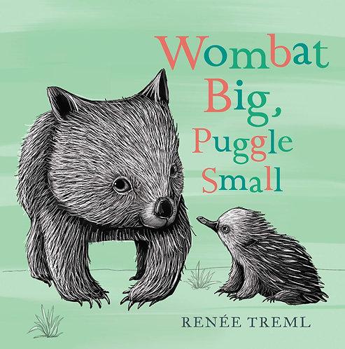 Wombat Big, Puggle Small (Board Book)