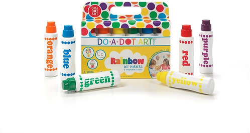 Do A Dot Art! Rainbow Markers 6 pack