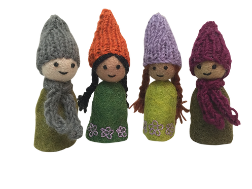Papoose Forest Finger Puppets Set of 4