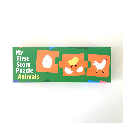 My First Story Puzzle Animals
