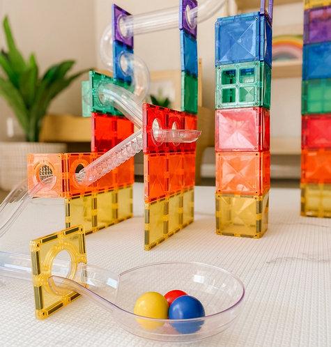 Connetix Tiles Ball Run 92 pieces Set