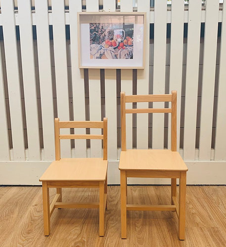 Classic Preschooler (3 - 5 Yrs) CHAIR Solid European Beech Wood