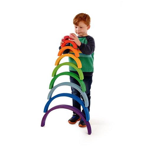 Bauspiel Giant Rainbow 10pc - 50cm