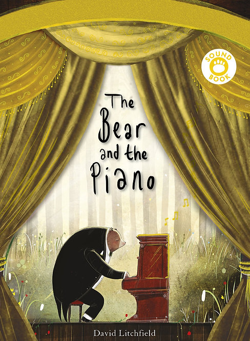 The Bear and the Piano Sound Book (Paperback)