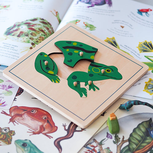 Frog Wooden Puzzle