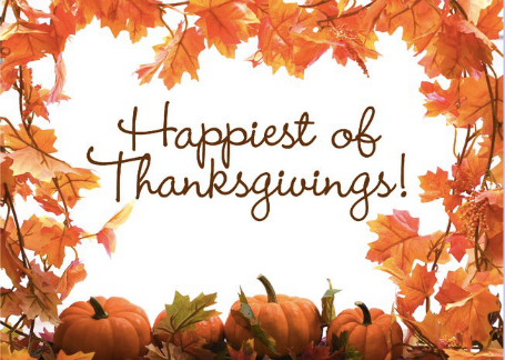 WE ARE SO THANKFUL FOR YOU!
