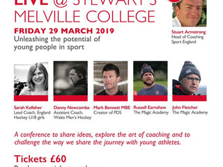 New event - The Talent Equation Live in partnership with Stewart's Melville  College
