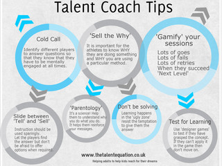 Talent Coach Tips - infographic