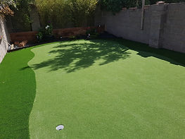 Artificial Putting Golf Green