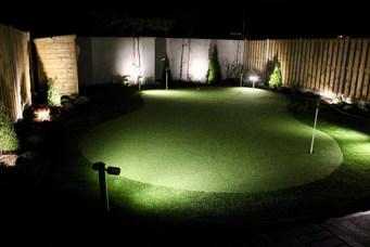 Illuminated Golf Green