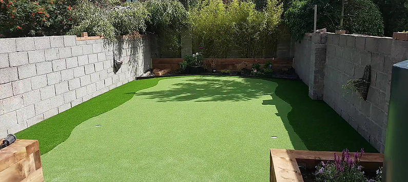 Practice Green Video - Synthetic Golf Putting Green Installation