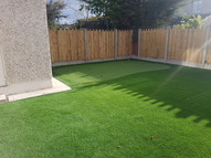 Garden Golf Putting Green and TigerTurf Lawn