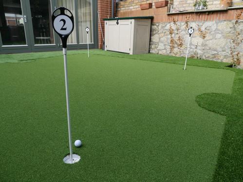 Garden Decking Golf Green