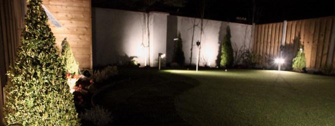 golf garden lighting