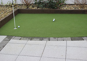 Synthetic Golf Putting Green Installation in Malahide