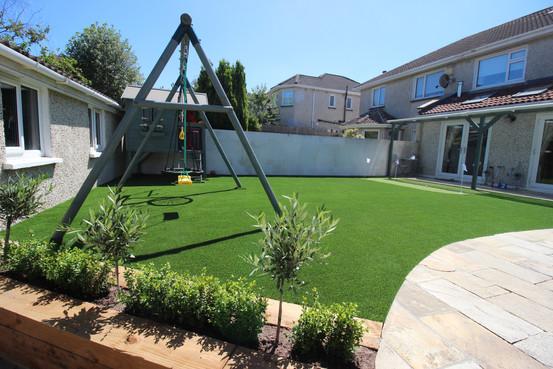 Miniture Golf Green and Artificial Grass