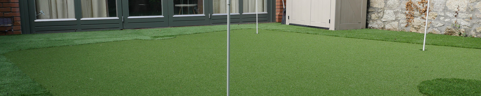 Golf Green Decking