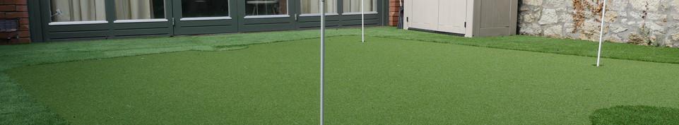 Golf Green Decking