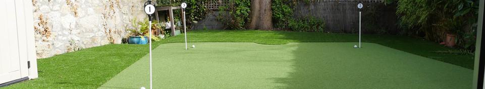 Golf Green Garden Decking