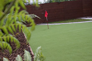 Artificial Garden Golf Green