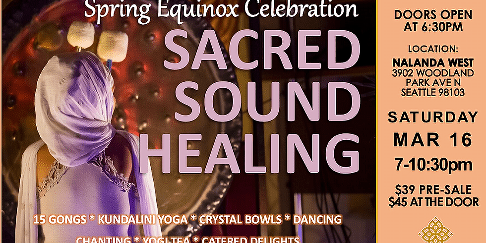Spring Equinox Sacred Sound Immersion