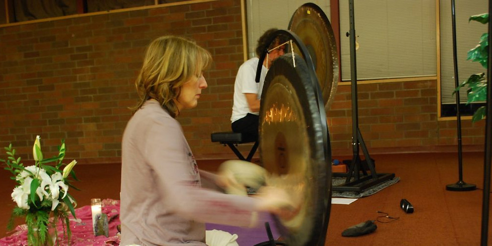 New Moon Gong Sound Healing Relaxation