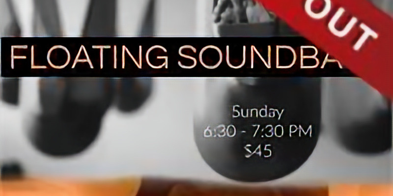 Floating Sound Bath with Shoshanna and Roger (Sold Out)