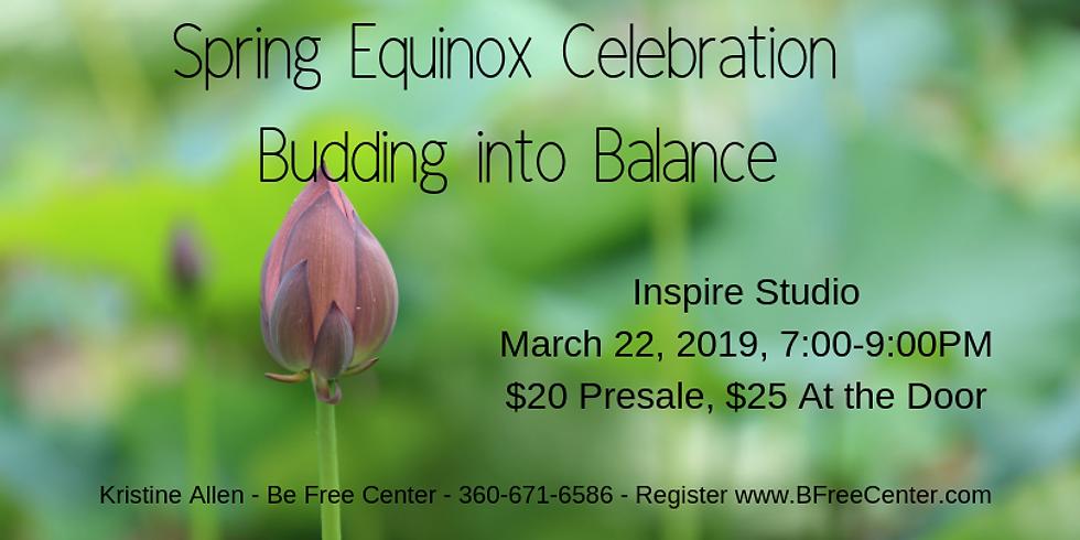 Spring Equinox Celebration – Budding into Balance