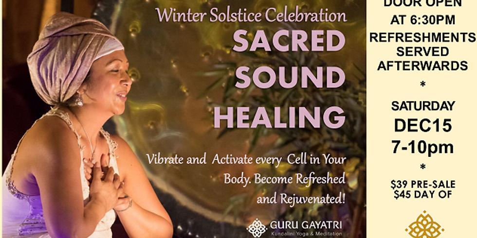 Winter Solstice Sacred Sound Healing