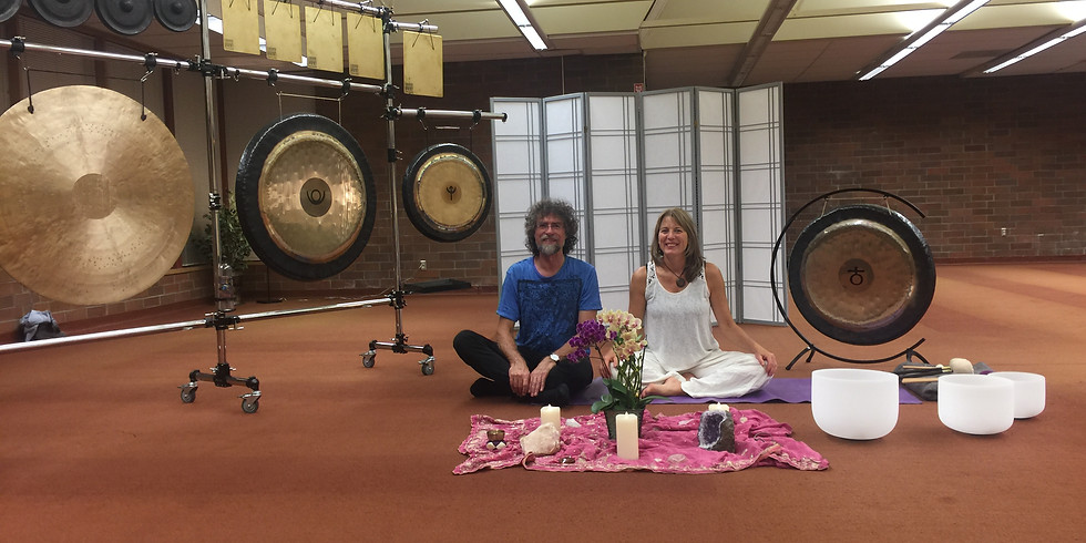 New Moon Sound Healing and Gong Bath