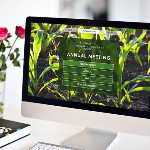website design, print collateral, digital design