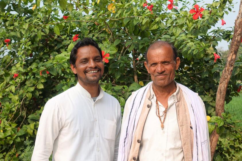 Prahlad & Babulal his father
