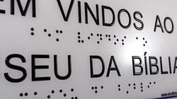Placa de braille Sinal Link Acessibilidade